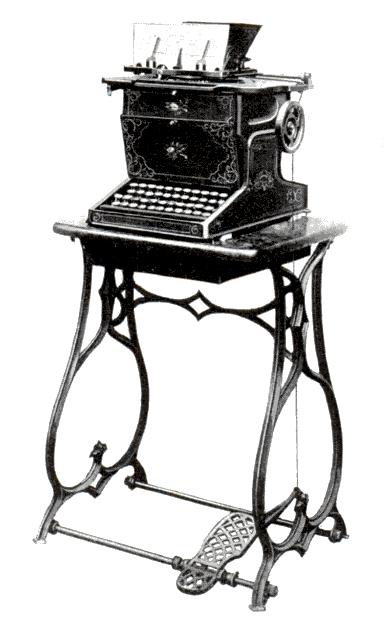 Invention De La Machine à écrire : invention, machine, écrire, Sholes, Glidden, Typewriter, Wikipedia