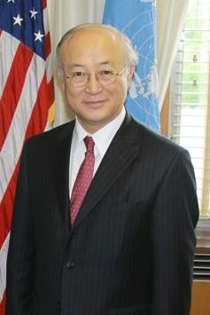 Director General Yukiya Amano of the Internati...