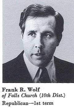 Congressional Portrait, Congressman Frank Wolf