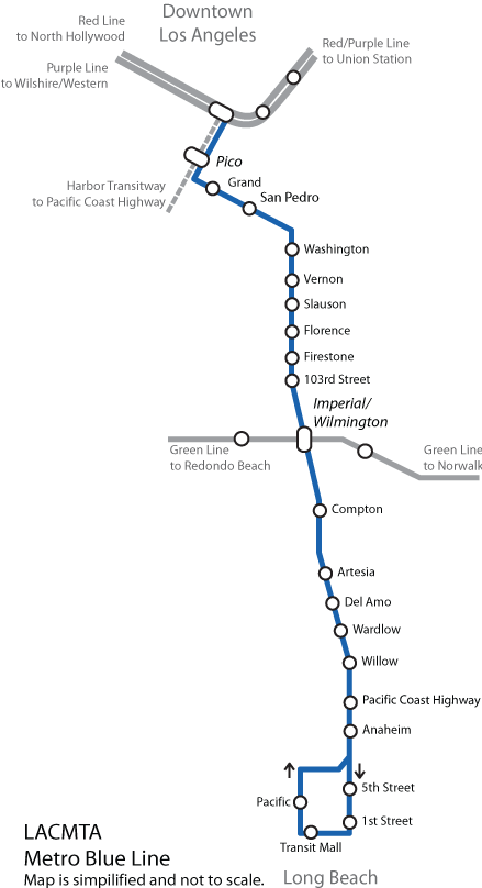 Los Angeles Metrolink Map : angeles, metrolink, File:Blue, Angeles, County, Metro, System.png, Wikimedia, Commons