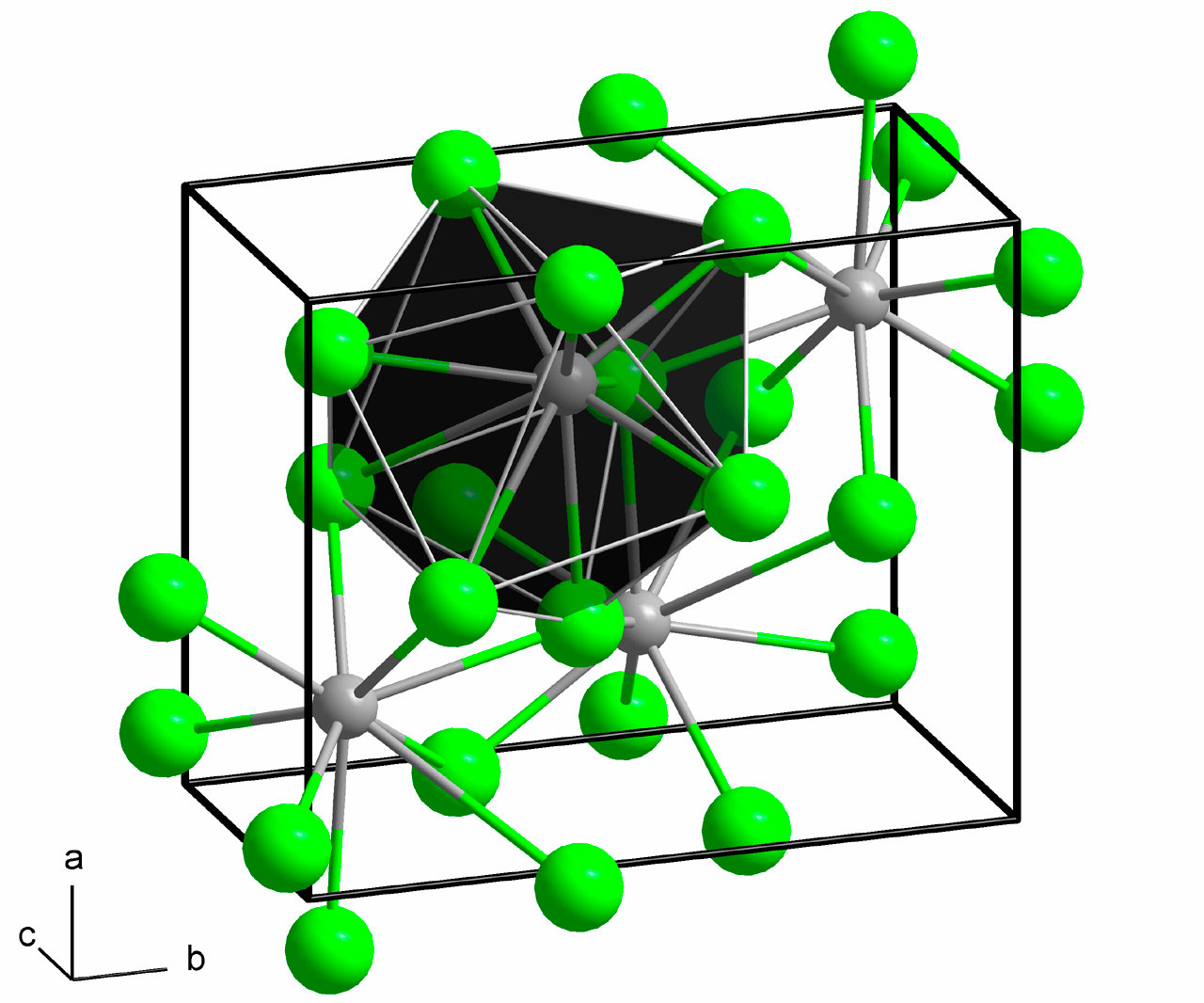 hight resolution of 3d diagram of nacl