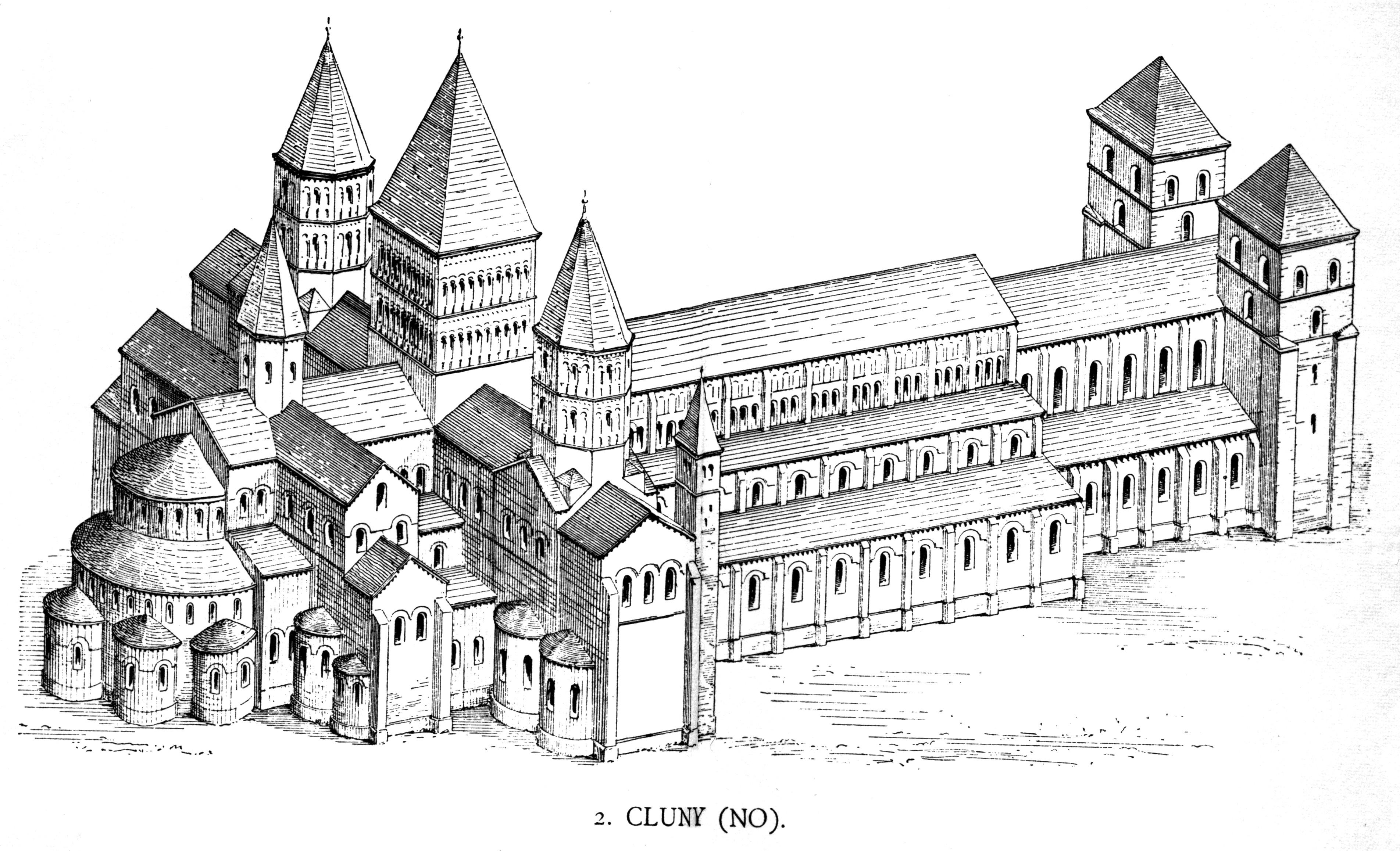 ehemalige Abteikirche von Cluny (Bau III)
