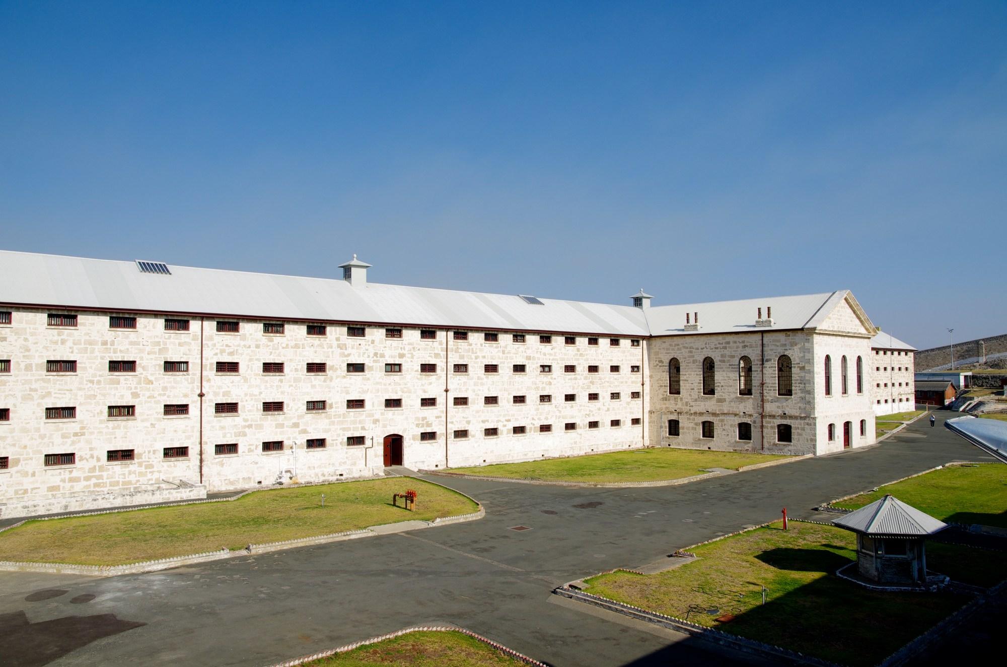 hight resolution of fremantle prison