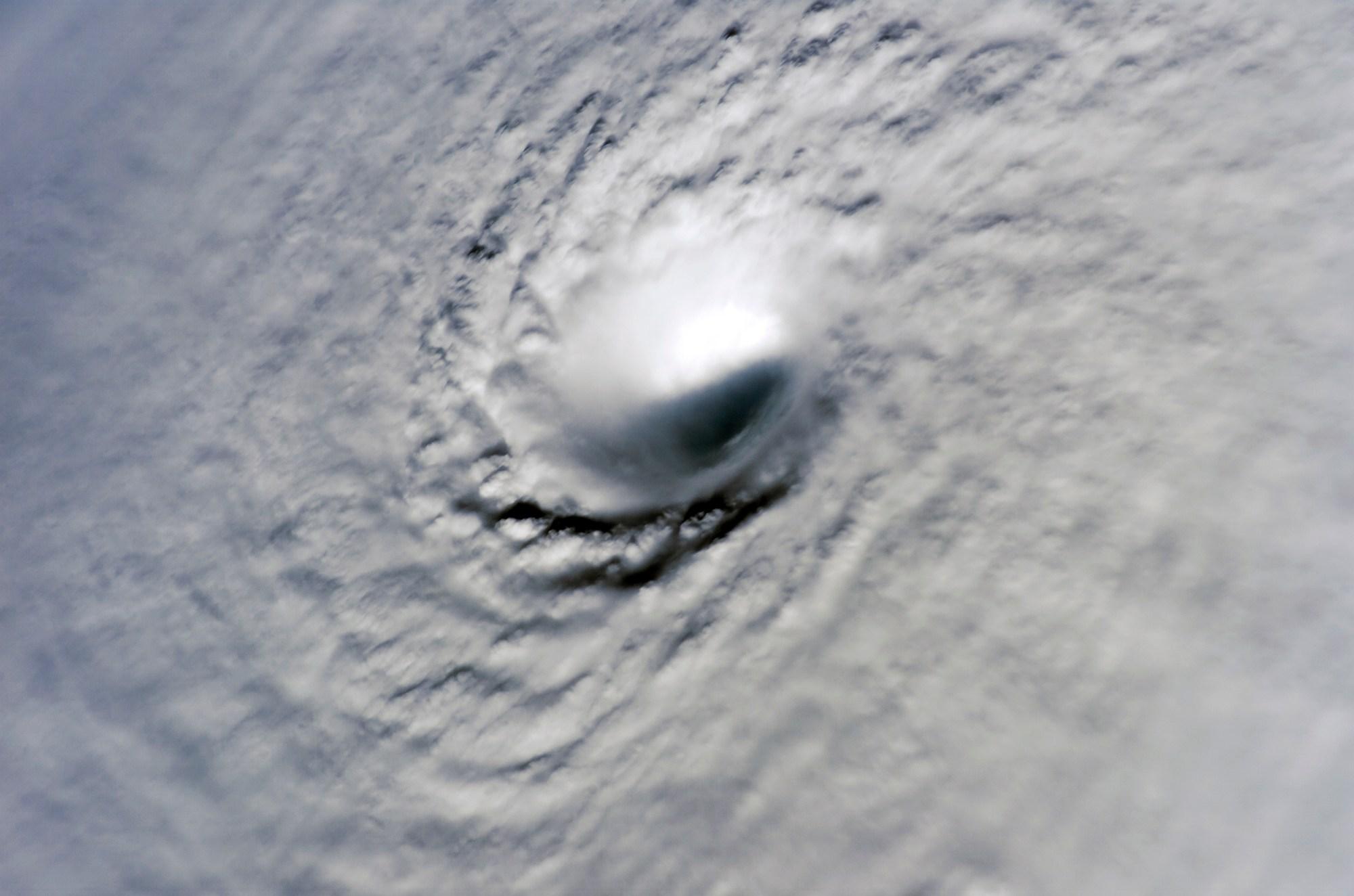 hight resolution of eye cyclone