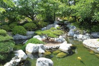File:Japanese Friendship Garden Path koi pond 2.JPG ...