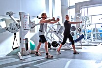 Personal Training at a Gym - Cable Crossover