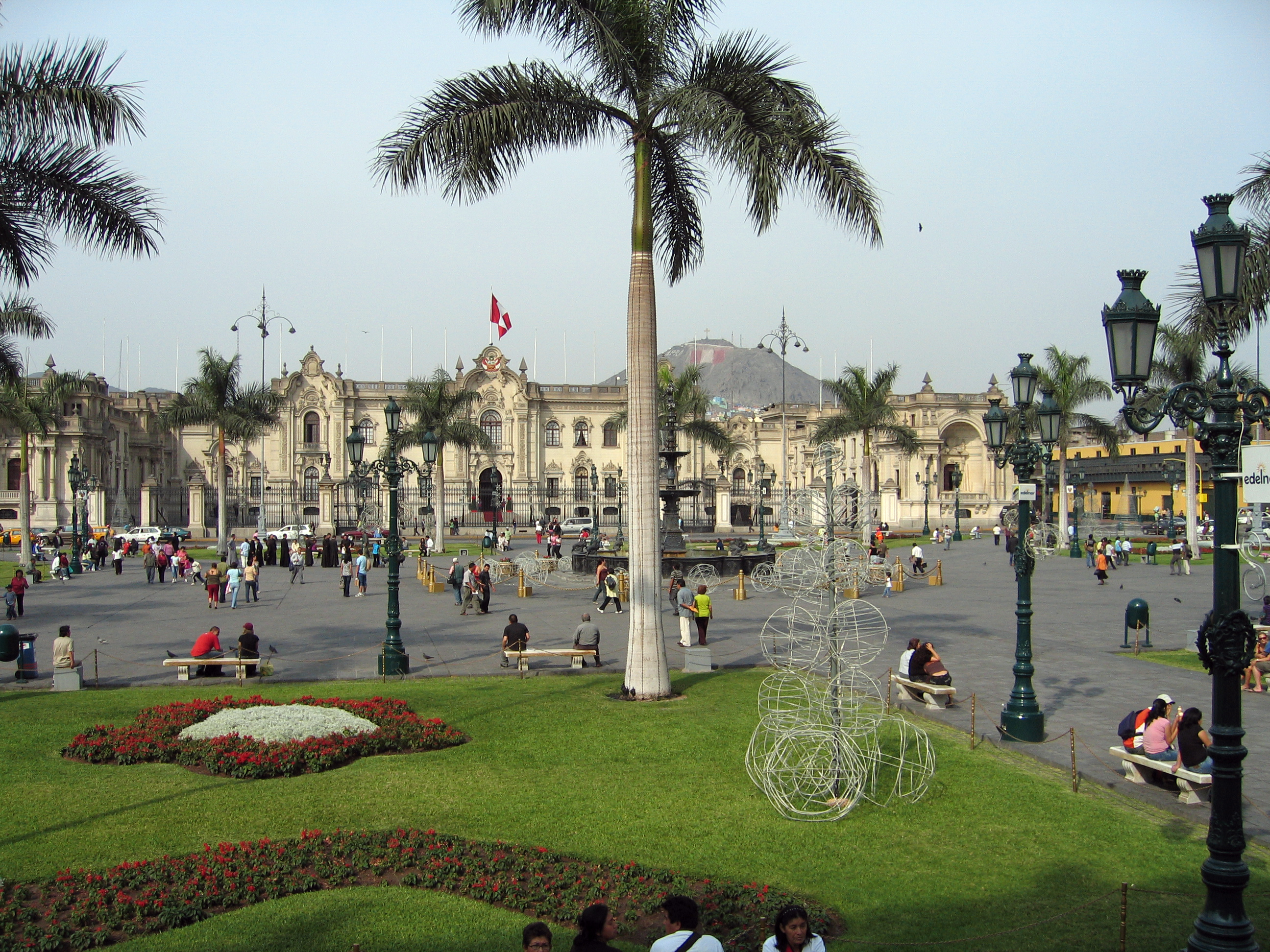 English: Lima Peru, Palacio de Gobierno