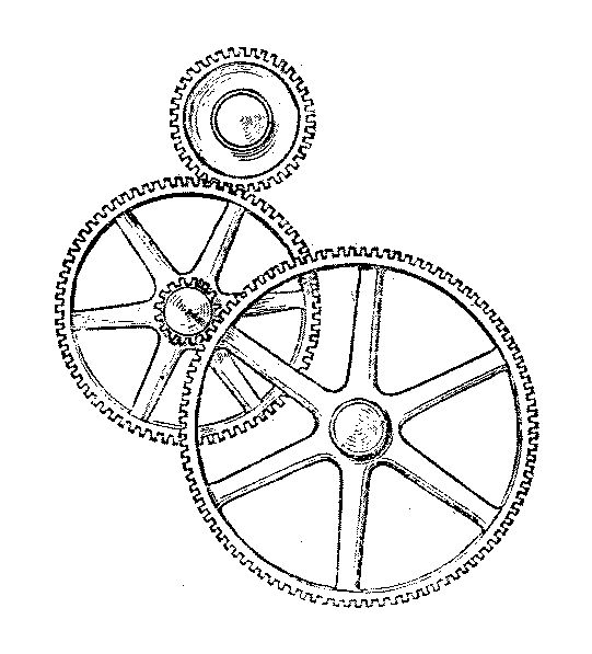 compound gear train diagram