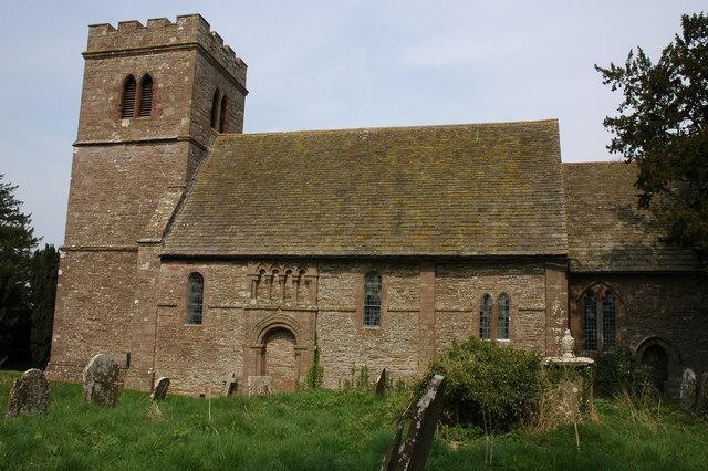 St Michael's church, Bockleton