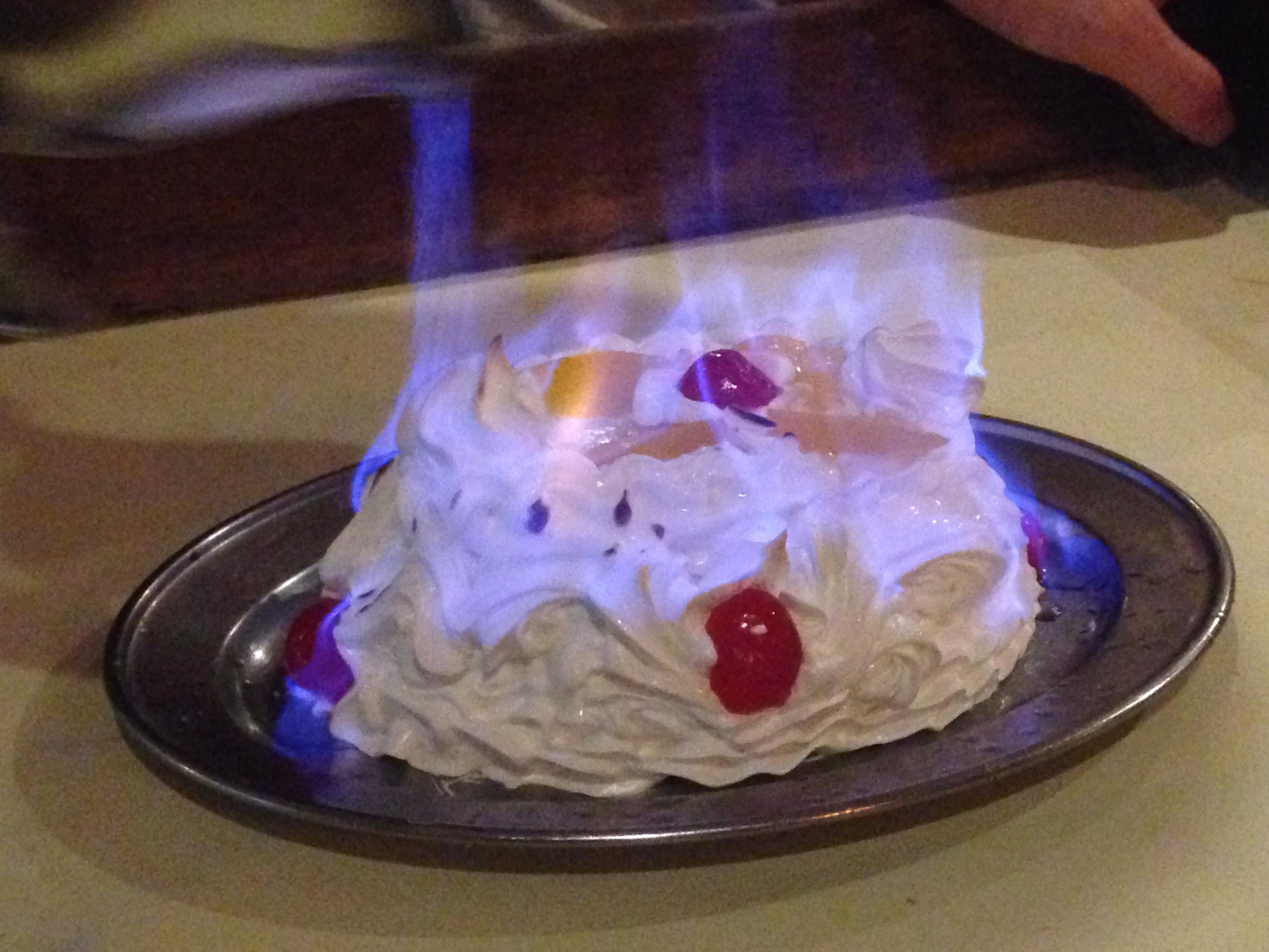 desserte haute cuisine