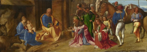 Giorgione the Adoration of the Kings