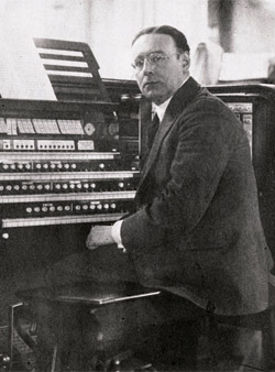 English: Canadian organist and composer James ...