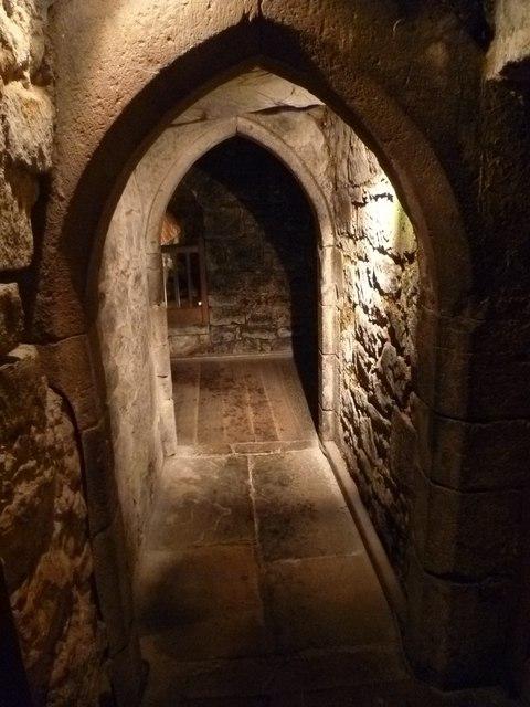 FilePassageway in Davids Tower Edinburgh Castle