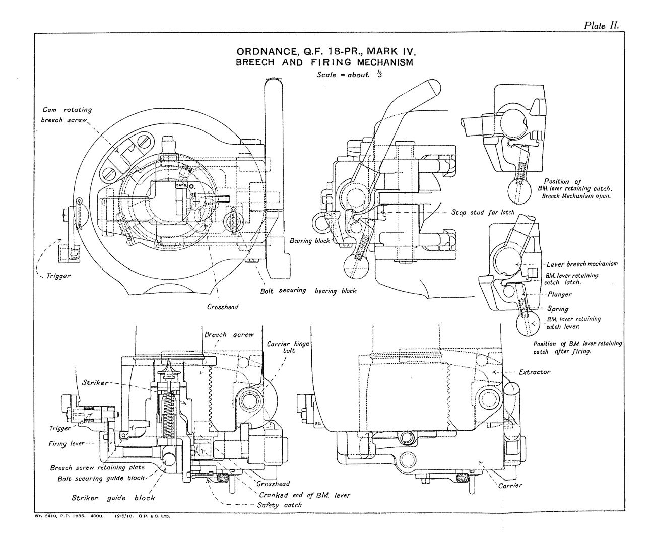 File Qf 18 Pounder Mark Iv Breech And Firing Mechanism Diagrams