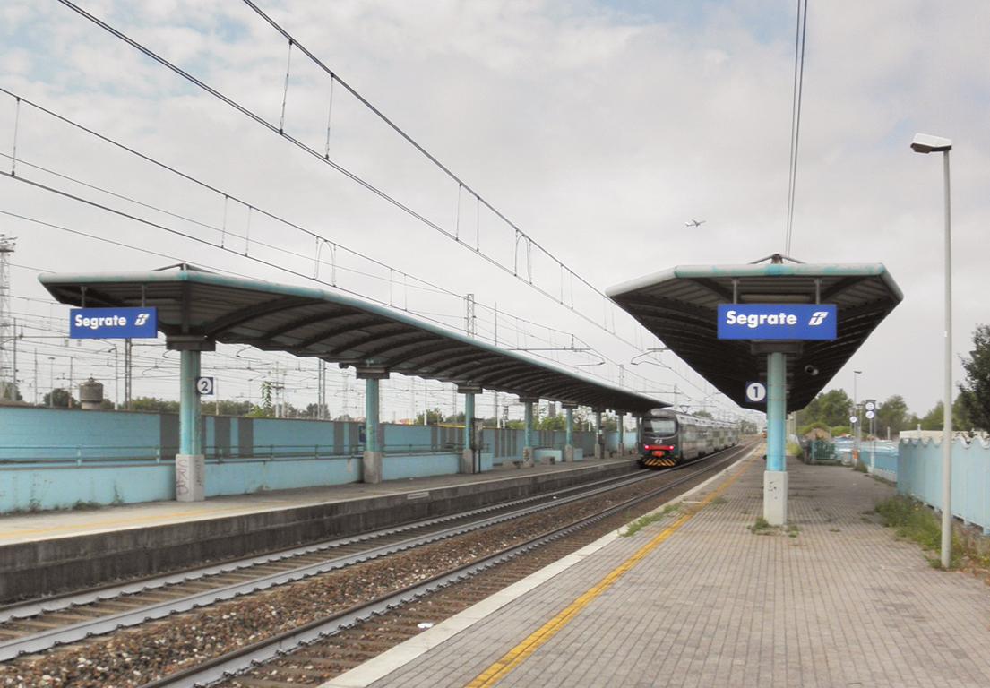 Segrate railway station  Wikipedia