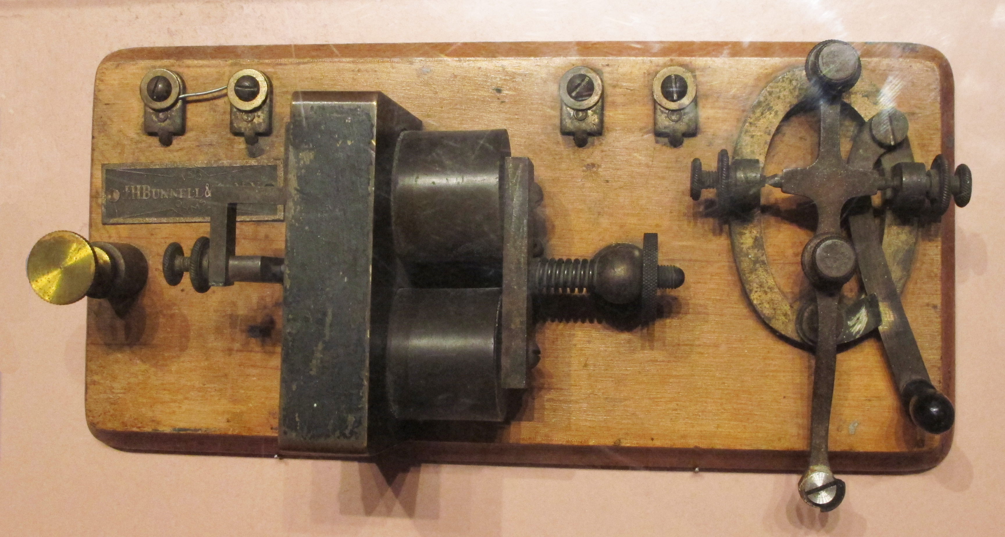 Wiring Diagram Telegraph Key