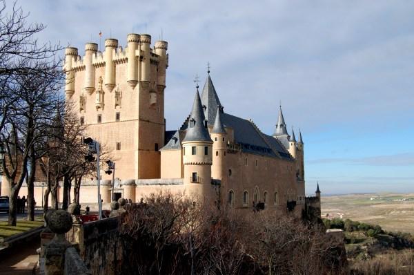 Alcazar De Segovia Castle