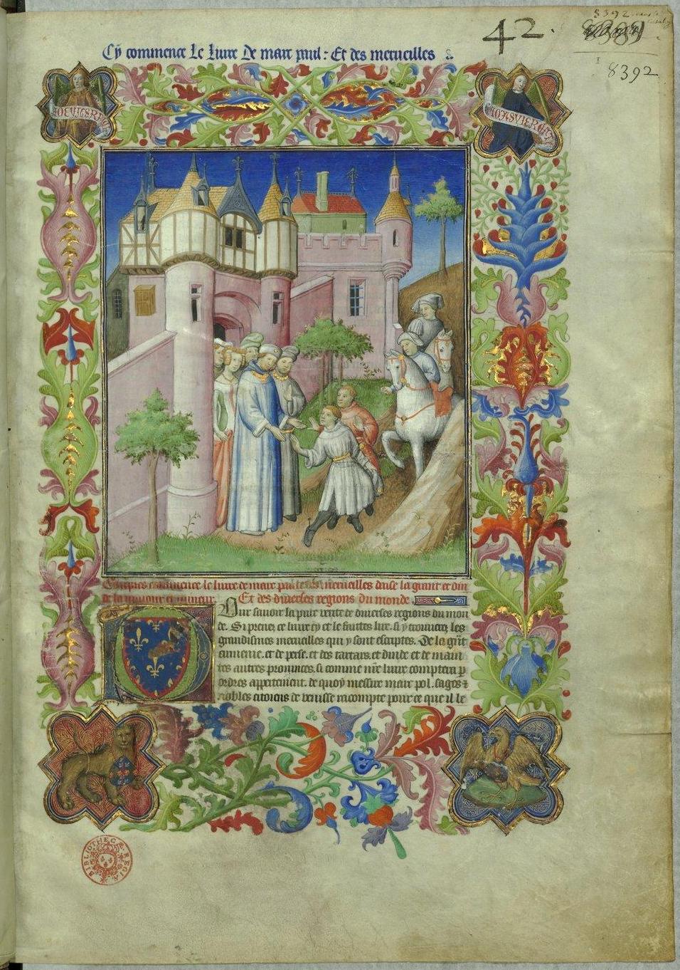 Le Livre Des Merveilles Marco Polo : livre, merveilles, marco, Livre, Merveilles, Fr2810), Wikipédia