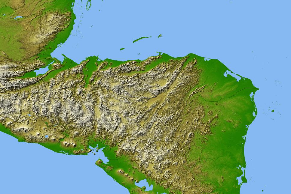 geography of honduras wikipedia