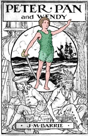 Peter Pan 1915 cover 2