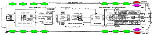 small resolution of file titanic boat deck plan with lifeboats png