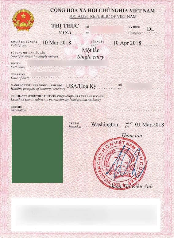 Visa policy of Vietnam - Wikipedia