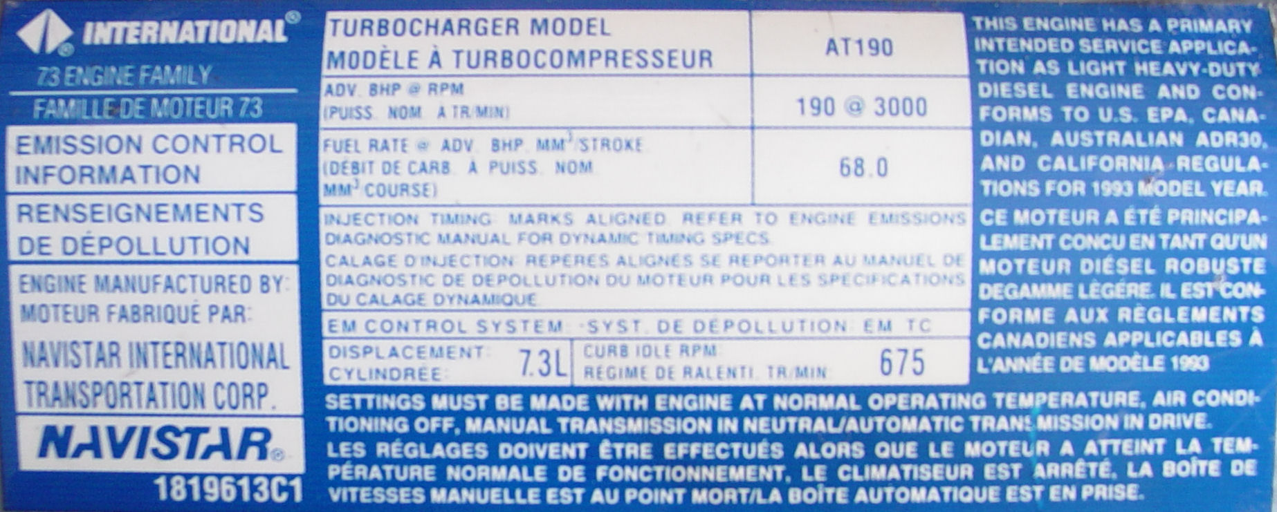 hight resolution of ford power stroke engine