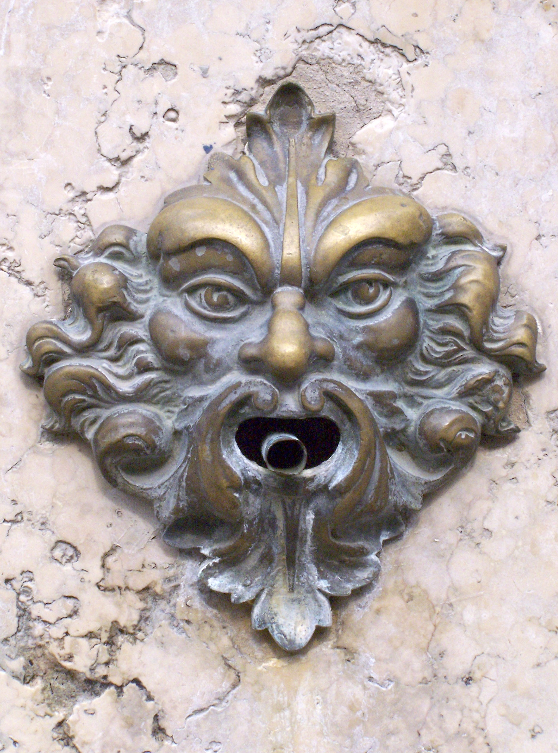green man doorbell