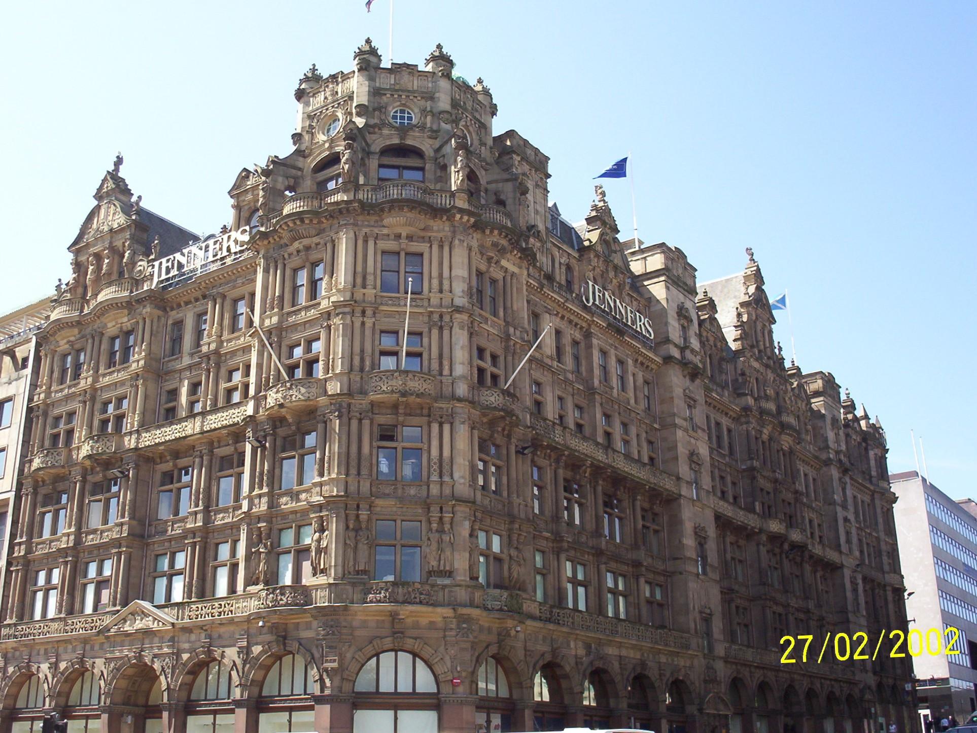 FileJenners Department Store Edinburgh Scotland