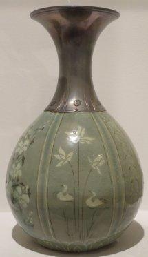 File Korean Lobe-shaped Vase Koryo Dynasty Early 13th