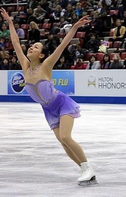 Mao Asada Skate America 2013 SP (2)