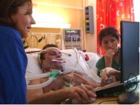 Patient in ECMO