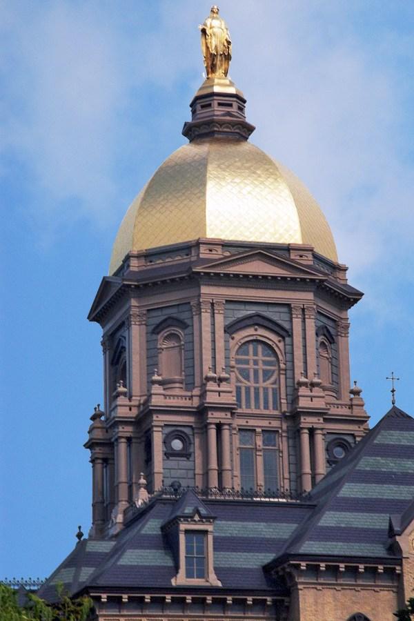 Golden Dome Notre Dame University