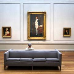 Sofa Art Gallery Upholstery Repair Sharjah File Napoleon And The Man On A Grey Couch Jpg Wikimedia Commons