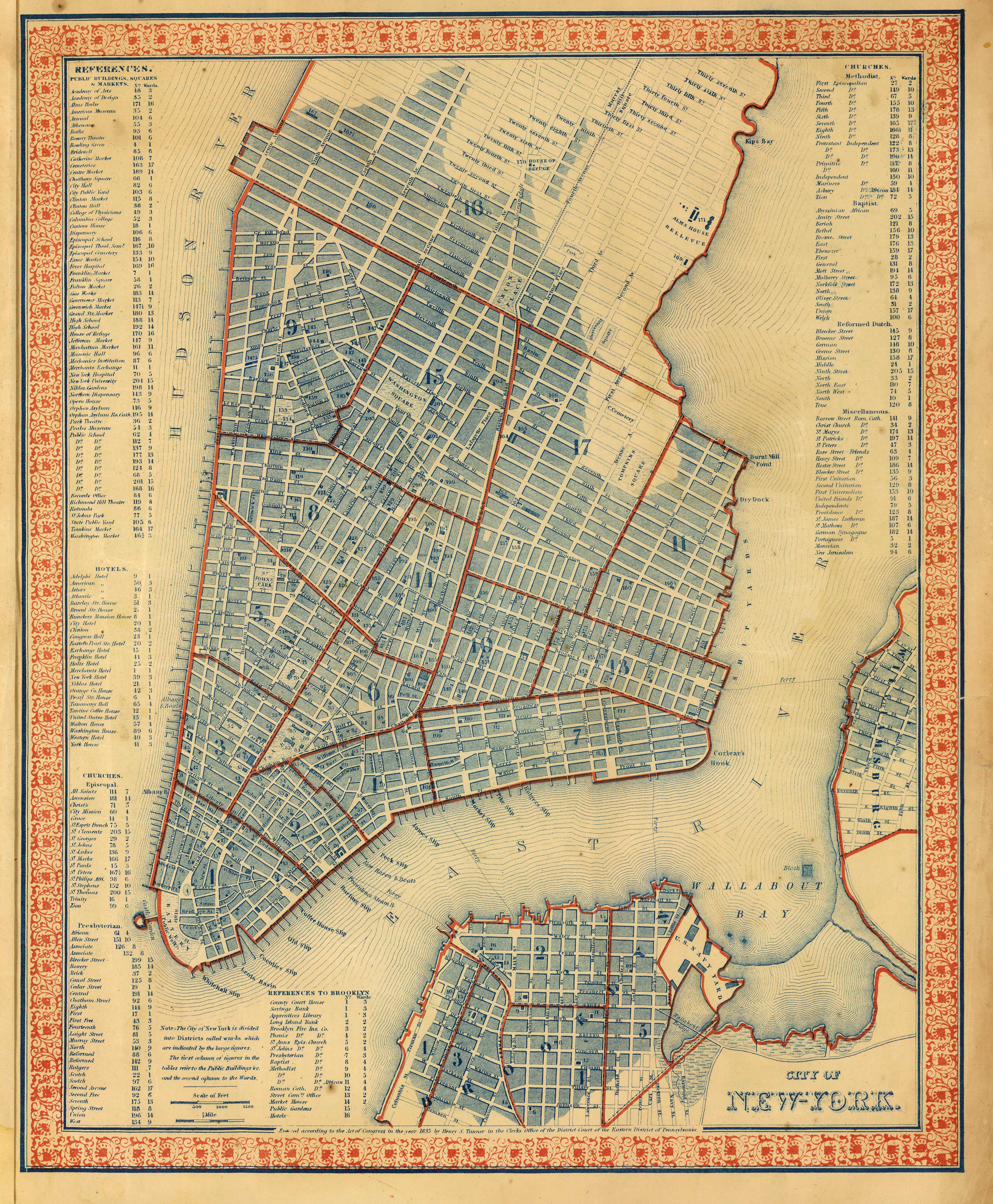 Antique New York City Historical Blog - Nyc map to print