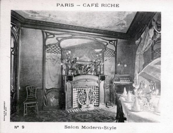 FileSalon Modern Style Art Nouveau Caf Riche Paris