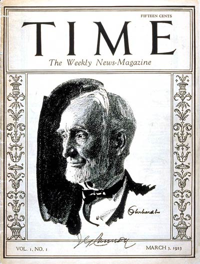Time Magazine first cover