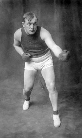World heavyweight boxing champion Tommy Burns