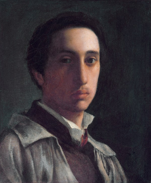 Edgar Degas Self Portrait