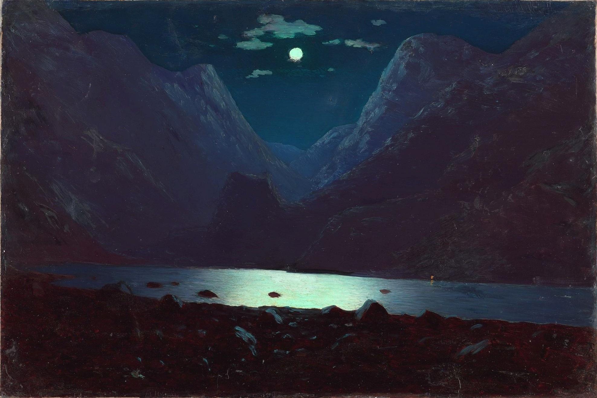 Дарьяльское ущелье Лунная ночь — Википедия