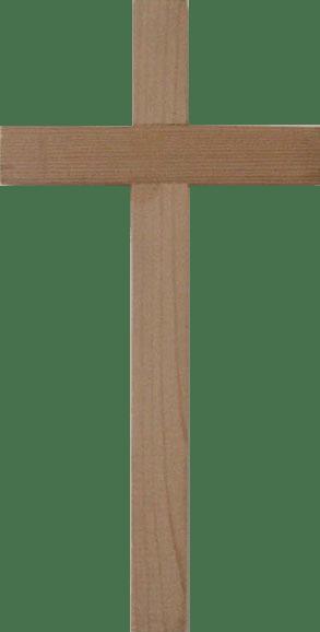 English: A plain wooden cross. Photo taken by ...