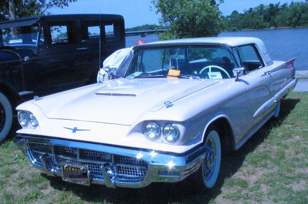 medium resolution of 1960 ford thunderbird hardtop