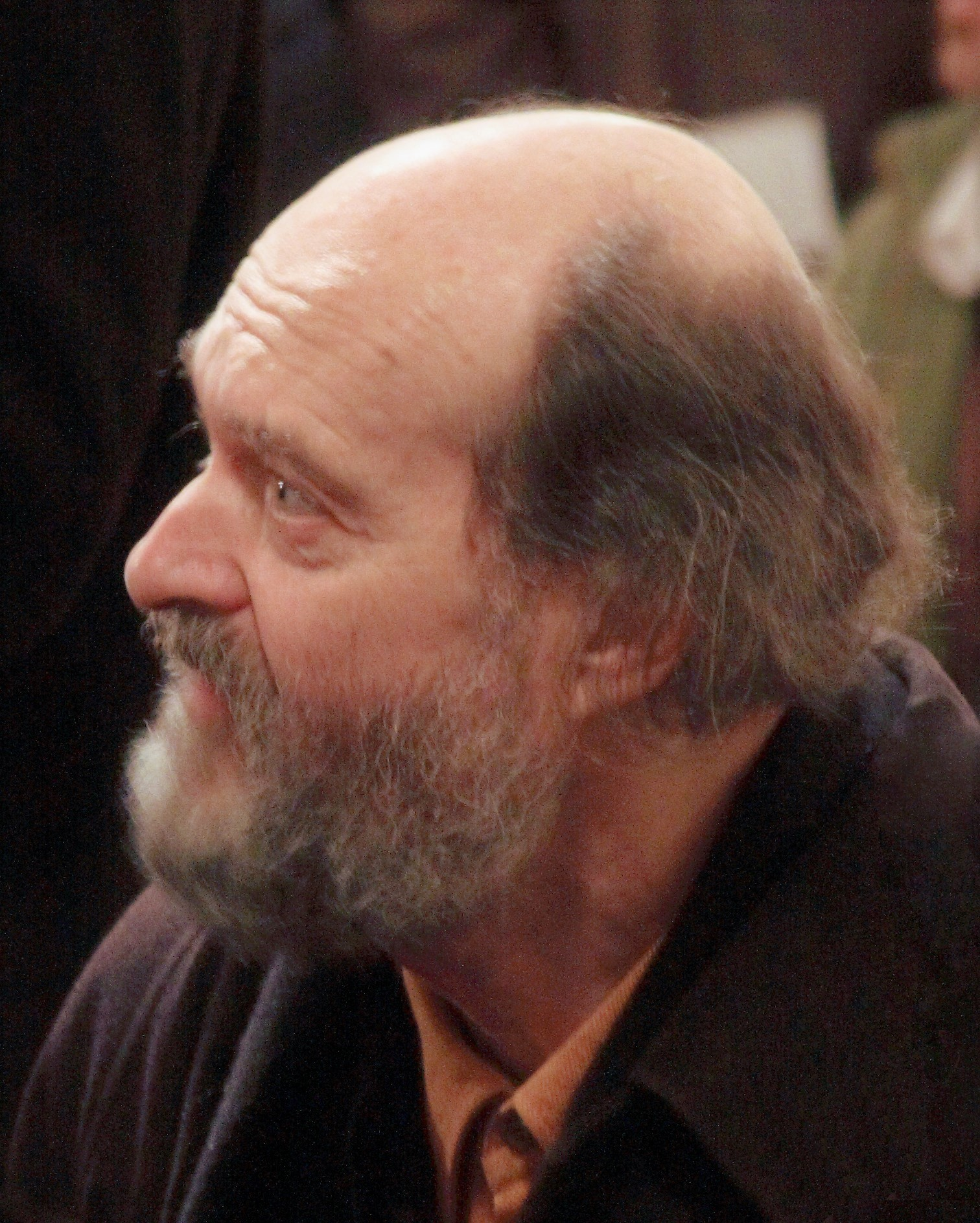 Estonian composer Arvo Pärt in Christchurch Cathedral, Dublin (Wikimedia Commons)
