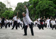 World Tai Chi & Qigong Day event in Rio de Jan...
