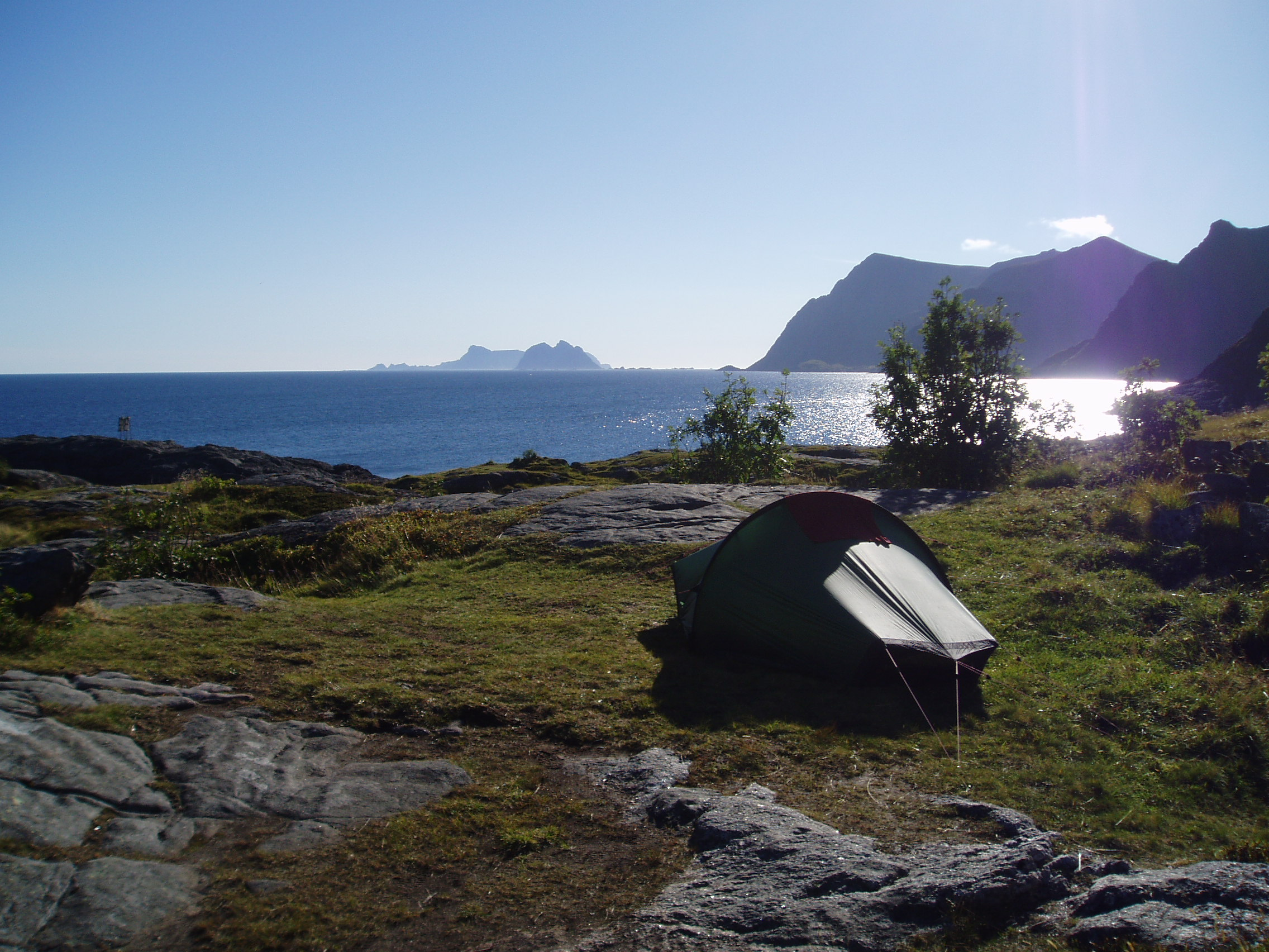 Creative Car Wallpapers File Camping At 197 In The Lofoten Islands Norway Jpg