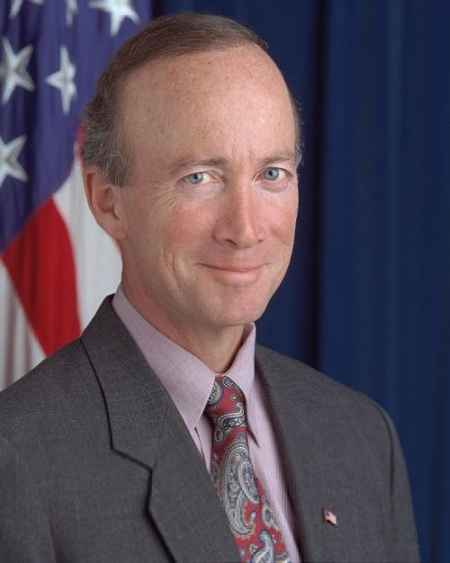 White House Portrait of Mitch Daniels