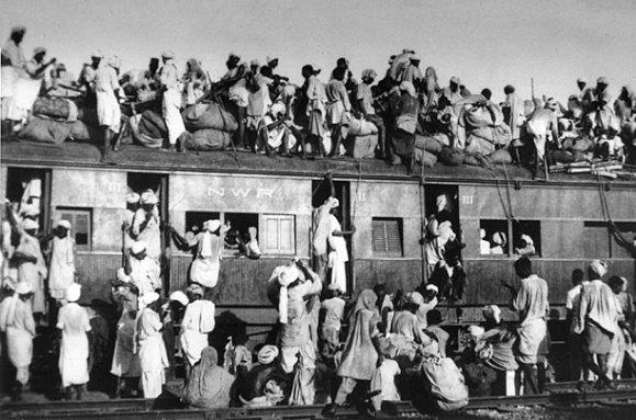 Sự chia cắt ở Punjab, Ấn Độ năm 1947. Nguồn: Wikimedia.