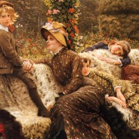 James Tissot's popularity boom in the 1980s