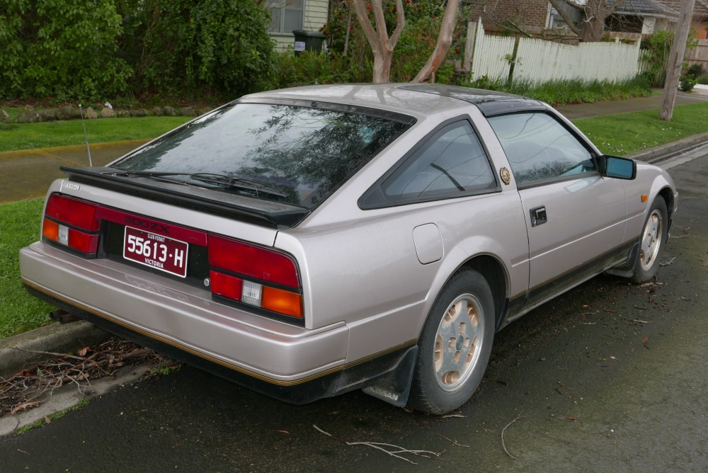medium resolution of 1984 nissan 300zx rear