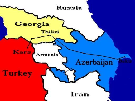 Baku Tbilisi Kars railway